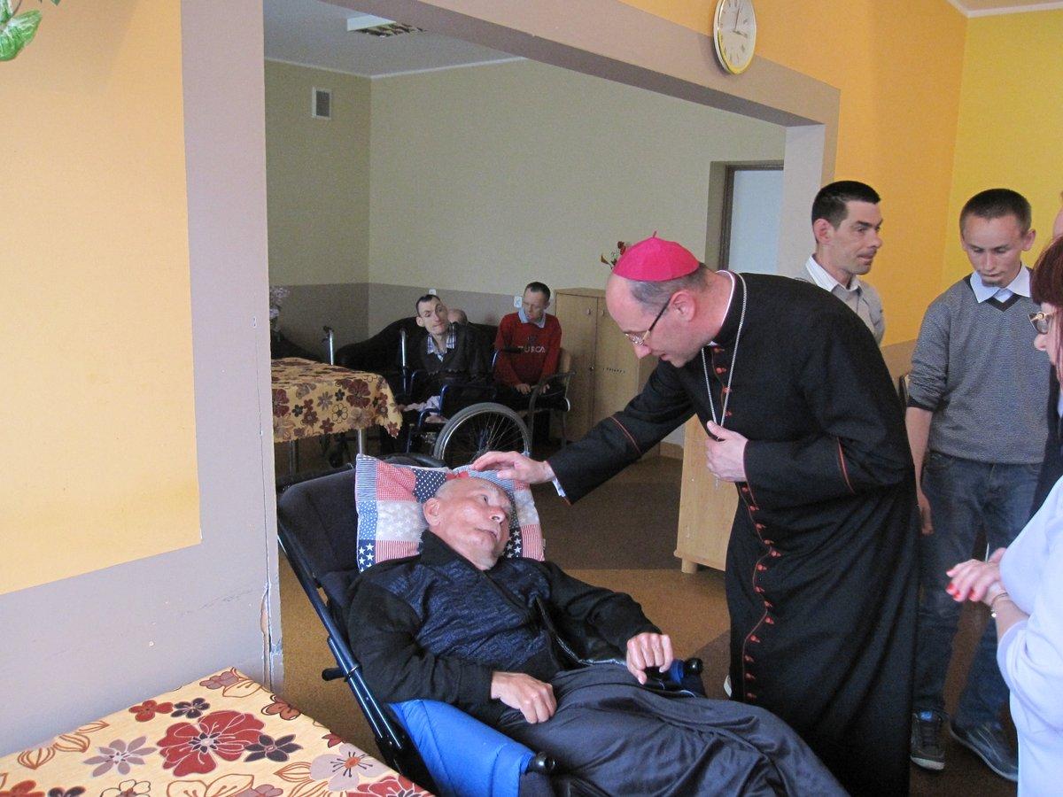 Wizyta Prymasa abp Wojciecha Polaka - 12.05.2015