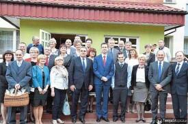 Wizyta Ministra Pracy i Polityki Społecznej Władysława Kośniak-Kamysz -  6.05.2014