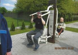 Wyjście na siłownię zewnętrzną - 17.04.2015