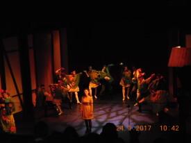 Teatr Muzyczny w Poznaniu '' Królowa Śniegu'' 24.01.2017