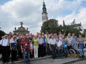 Pielgrzymka do Częstochowy 03.09.2015