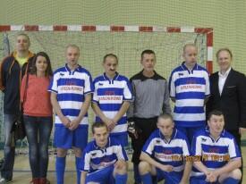 VIII Turniej Halowej Piłki Nożnej Osób Niepełnosprawnych 16.10.2015